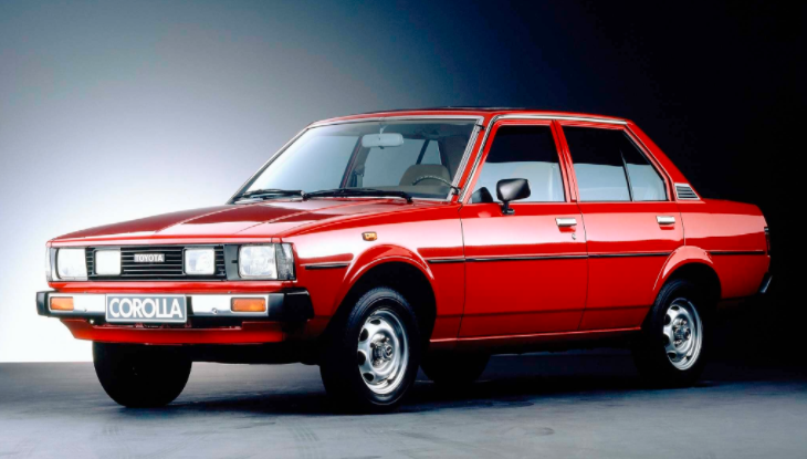 A history of the Toyota Corolla over the generations
