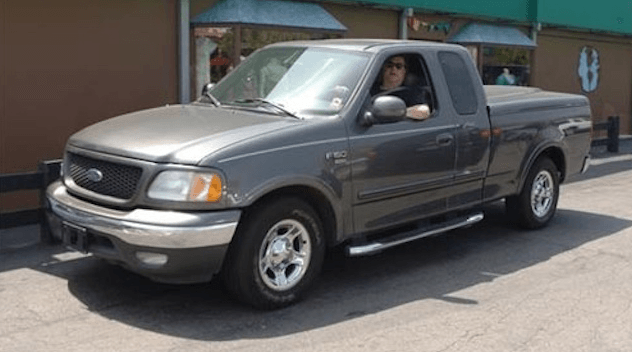 john goodman in his ford f-150
