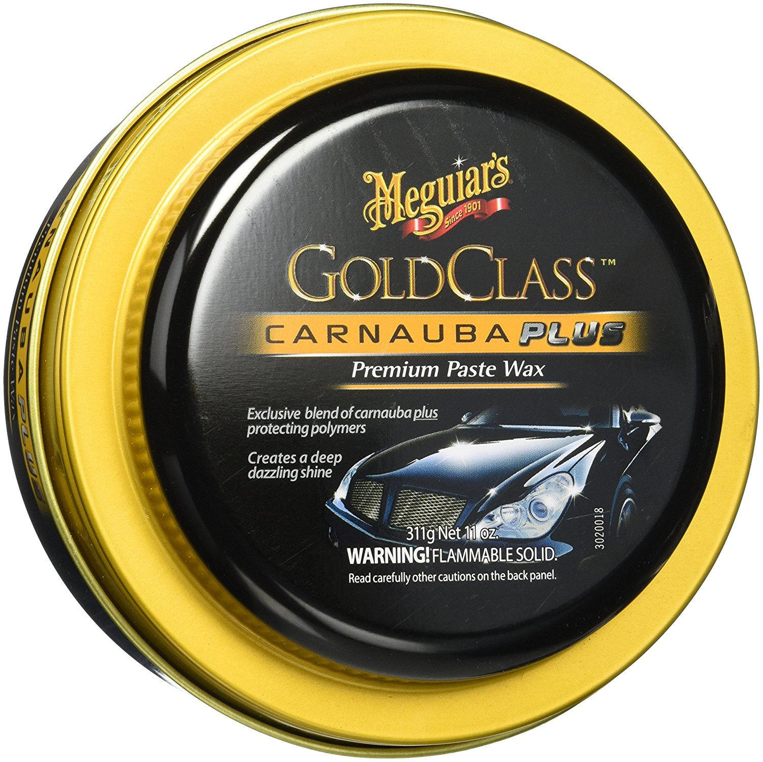 meguiars gold class paste wax