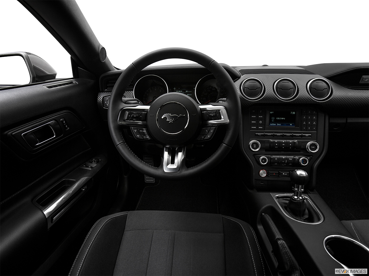 2018 ford mustang ecoboost fastback interior