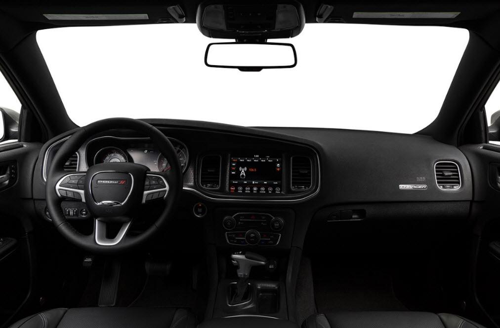2018 dodge charger sxt interior