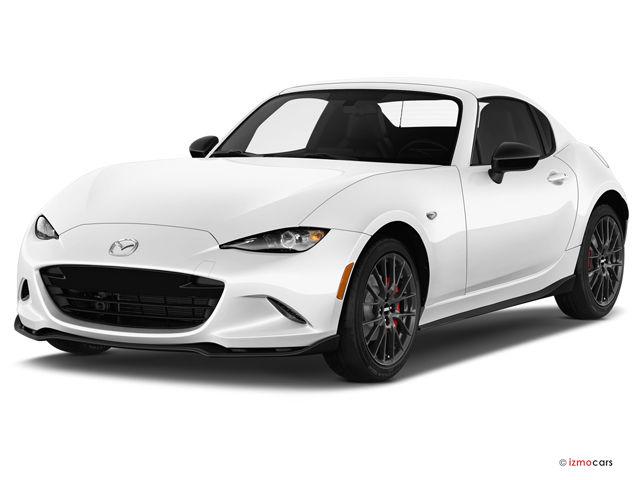2018 Mazda 3 white side short affordable everyday supercar