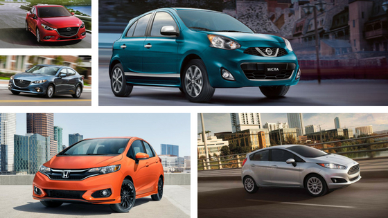 Cheapest Cars in Canada for 2018