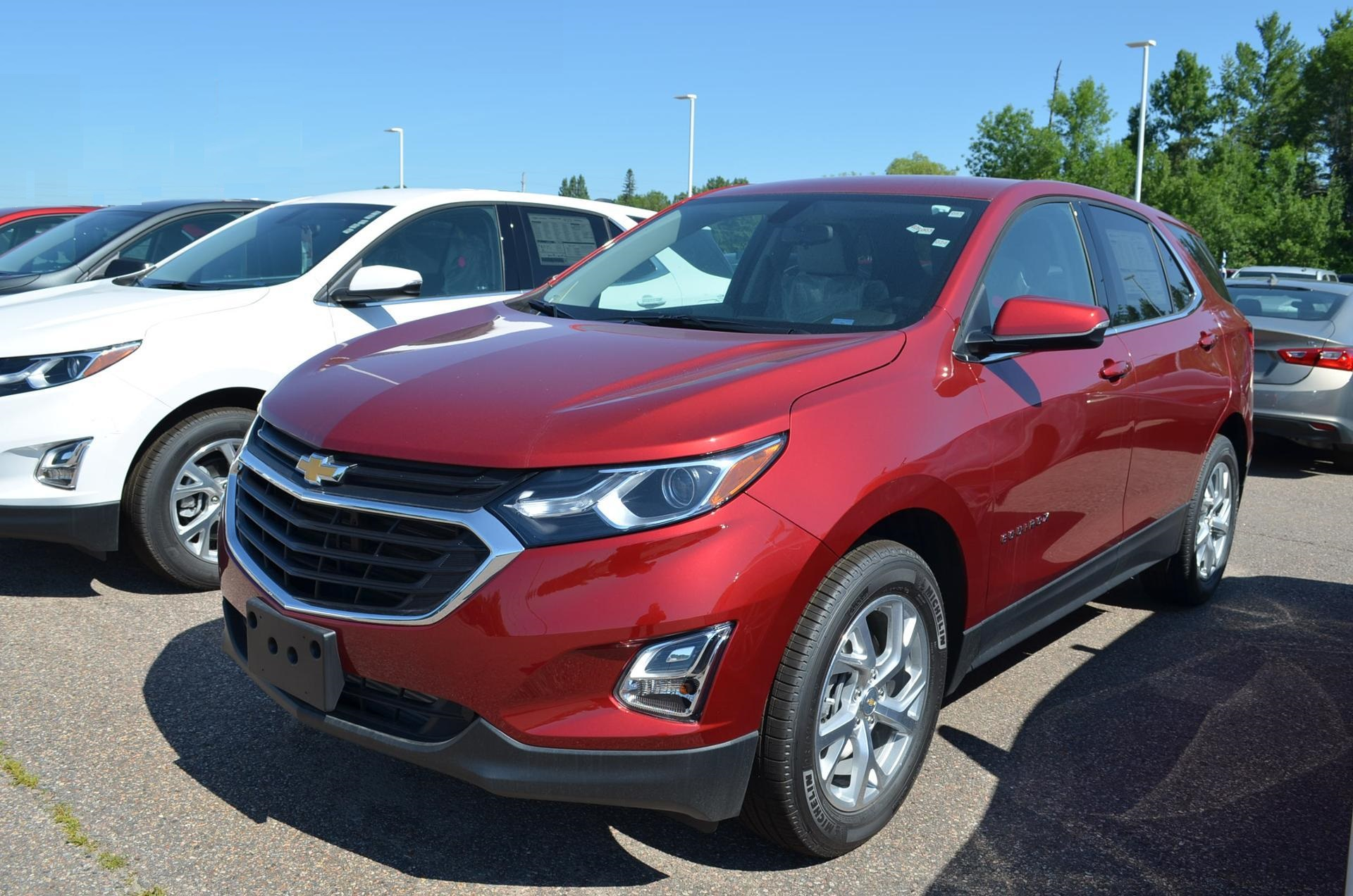 2018 Red Chevrolet Equinox Cars Made in Canada