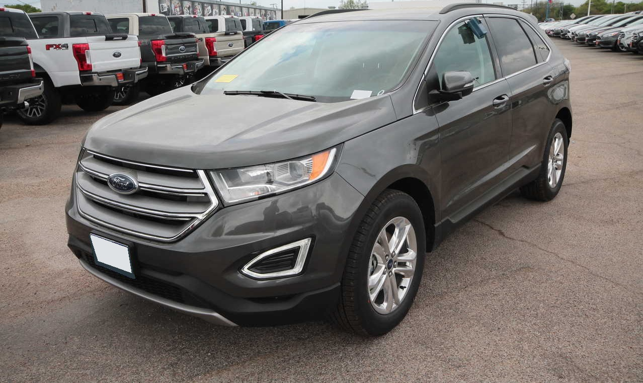 2018 Grey Ford Edge Cars Made in Canada