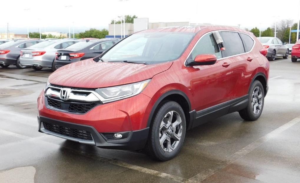 2018 Red Honda CR-V Cars Made in Canada