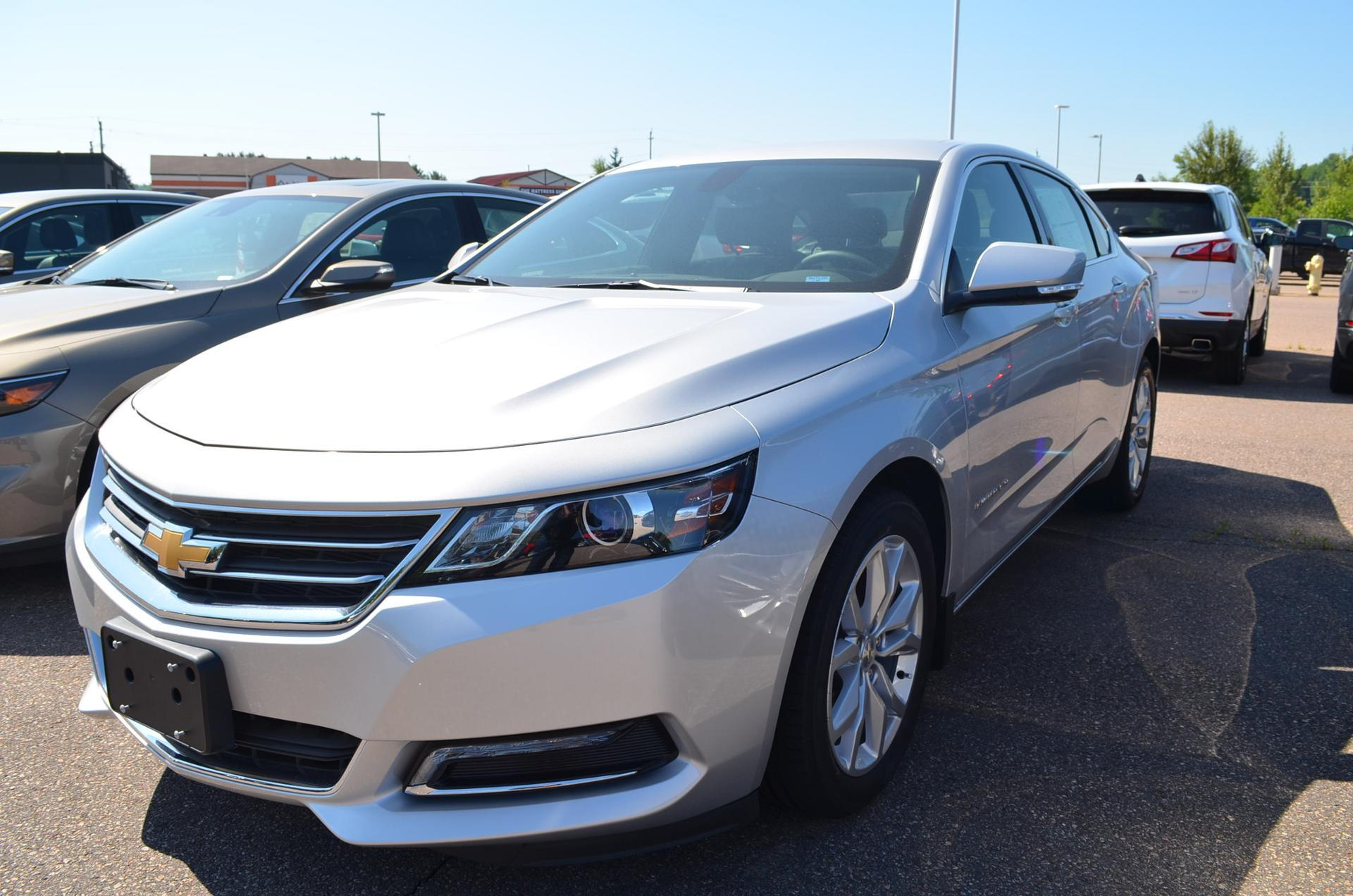 2018 White Chevrolet Impala Cars Made In Canada